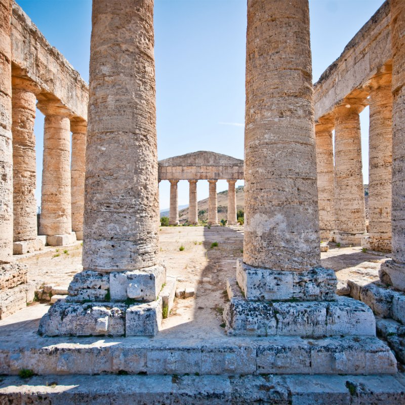 Antike Ruinen bestaunen