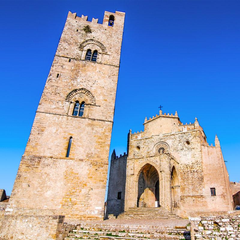 La cathédrale d'Erice