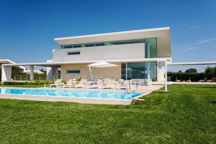 Fotoabdeckung Villa