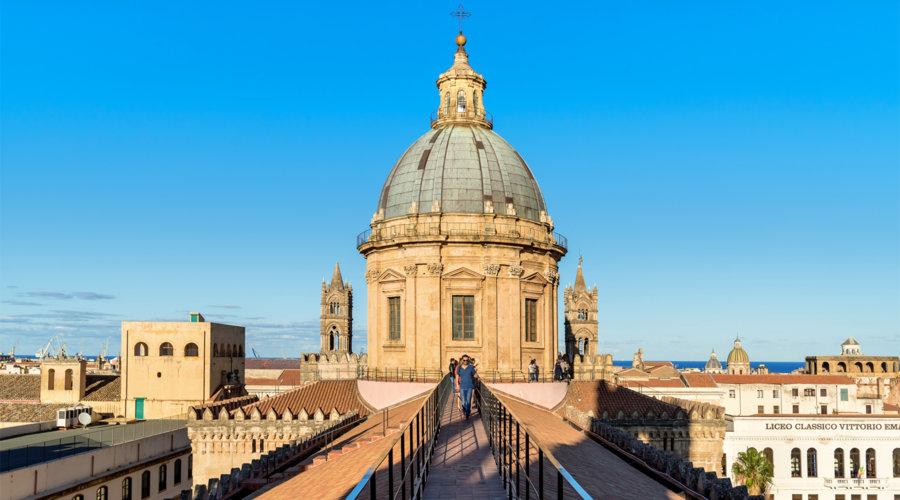 Aufs Dach der Kathedrale