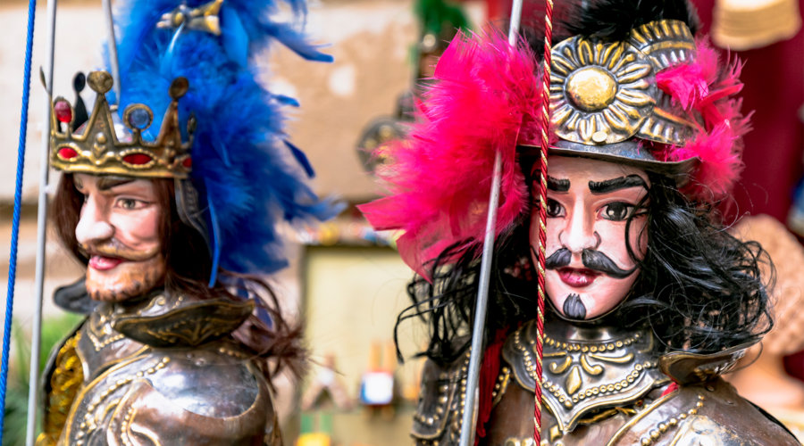 Palermos Puppentheater besuchen