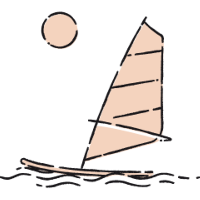Windsurfing at Pozzallo