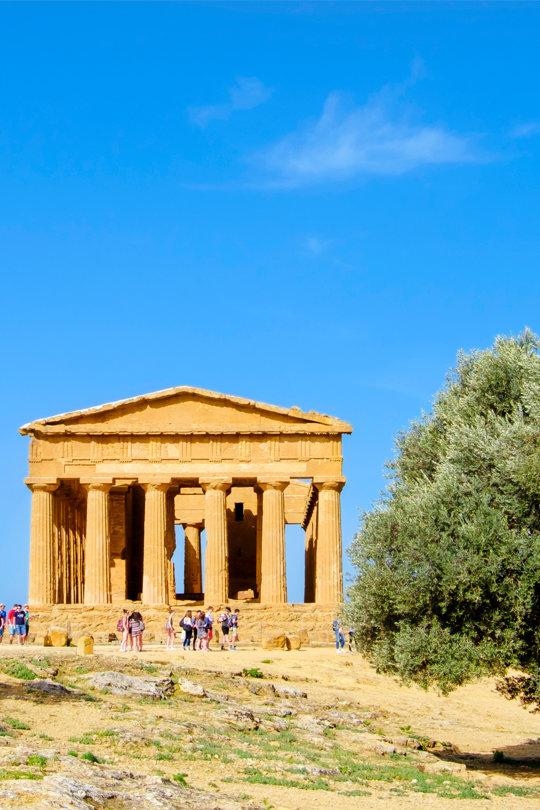 Tour von Agrigento